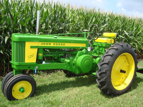 John Deere 520 Tractor Clutch : Pennsylvania haiti benefit auction benefits missions in