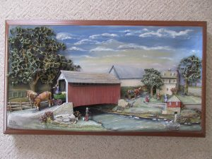 Signed & Dated 3D Photo of Snyder's Bridge In Martindale, PA -- Sold around 1PM