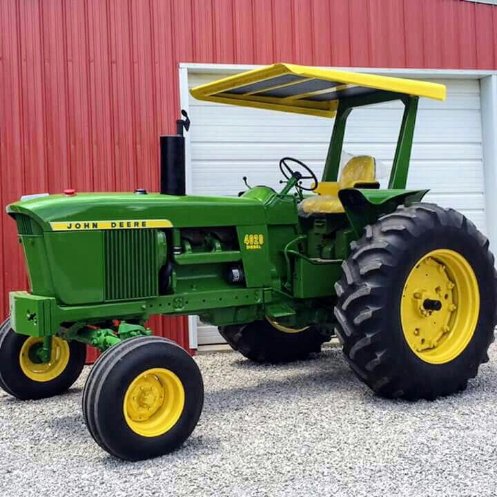 john deere 4020 diesel tractor with canopy pa haiti auction John Deere Canopy Parts